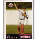 Joe Mauer RC 2002 Topps Total #1 Twins Rookie