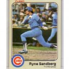 Ryne Sandberg RC 1983 Fleer #507 Cubs HOF RC
