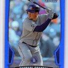 Yasmani Grandal 2013 Bowman Chrome Blue Refractor #92 Dodgers #/250