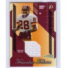 Darrell Green 2003 Score Franchise Fabrics Authentic G/U Jersey #FF-4 Redskins HOF #/250