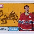 Jean Beliveau 1968-69 Topps #61 Montreal Canadiens, HOF