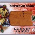 LeBron James 2013-14 SP Authentic Supreme Court Authentics #SC-9 Cavs, Heat