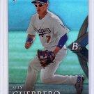 Alex Guerrero RC 2014 Bowman Platinum Blue Sapphire #100 Dodgers