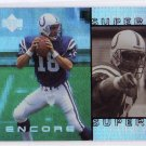 Peyton Manning RC 1998 Upper Deck Encore Super Powers #S8 Colts, Broncos