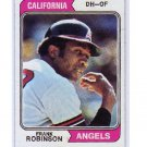 Frank Robinson 1974 Topps #55 Angels, Orioles, Reds HOF