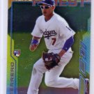 Alex Guerrero RC 2014 Topps Finest #5 Dodgers