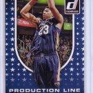 Anthony Davis 2014-15 Panini Donruss Production Line Rebounds #10 Pelicans