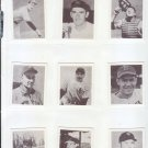 1948 Bowman Baseball Near Complete Set (46) Berra, Spahn, Feller, Musial (Reprints)