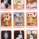 TCMA Greatest Teams 1957 Milwaukee Braves complete set (9) Aaron Mathews Spahn