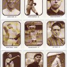 TCMA Greatest Teams 1907 Chicago Cubs complete set (9) Tinker Evers Chance