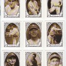 "1987 TCMA ""Baseball's Greatest Teams"" 1927 Yankees Complete set (9) Ruth, Gehrig"