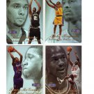 1997-98 Flair Showcase Row 3 Complete Set #1-80 Duncan RC, MJ, Kobe