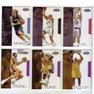 2003-04 Fleer Hoops Hot Prospects Base Set (#1-80) Kobe