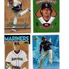 Felix Hernandez 4 card lot Mariners