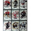 2005-06 Upper Deck Ice Complete Base Set of Stars #1-100 Lemieux, Yzerman