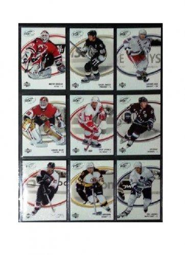 2005-06 Upper Deck Ice Complete Base Set of Stars #1-100 Lemieux, Yzerman