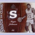 Magic Johnson 2007-08 SP Game Used Swatch of Class #SC-MA Lakers