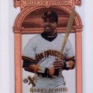 Barry Bonds 1997 EX 2000 Hall or Nothing #11 Giants Pirates