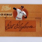 Justin Morneau 2005 Donruss Leather & Lumber Leather Cuts Autograph #LC-24 Twins #/128