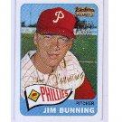 Jim Bunning 2001 Topps Team Topps Legends Autographs #20 Phillies HOF Certified by Topps