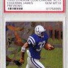 Edgerrin James RC 1999 Stadium Club Chrome Previews #C17 PSA 10 Gem Mint Colts