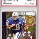 Marshall Faulk RC 1994 SP #3 PSA 9 Mint Colts, Rams, HOF