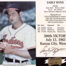 Early Wynn Authentic Signed Autographed 300th Win Cache #/300 Indians HOF