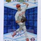 Cole Hamels 2007 UD Spectrum Rookie Autograph #RR-HA Phillies #/90