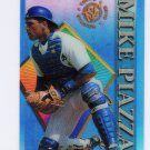 Mike Piazza 1995 Topps Stadium Club Clearcut #1 Dodgers Mets