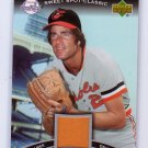 Jim Palmer 2007 Sweet Spot Classic Memorabilia #CM-JP Orioles HOF