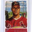 Albert Pujols RC 2001 Topps Gallery RC #135 Angels, Cardinals