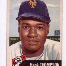Hank Thompson 1953 Topps #20  New York Giants