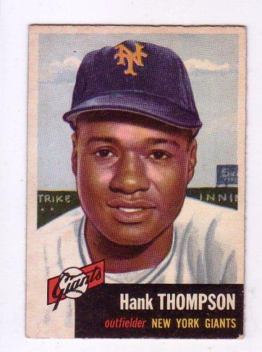 Hank Thompson 1953 Topps #20  New York Giants