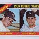 Bobby Murcer RC 1966 Topps Yankees Rookie Stars #469 New York Yankees