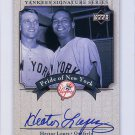 Hector Lopez 2003 Upper Deck Yankees Signature Series Pride of New York Autographs #PN-HL