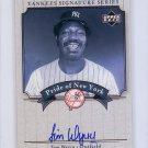 Jim Wynn 2003 Upper Deck Yankees Signature Series Pride of New York Autographs #PN-JW