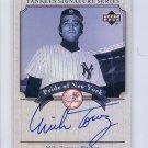 Mike Torrez 2003 Upper Deck Yankees Signature Series Pride of New York Autographs #PN-MT
