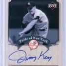 Jimmy Key 2003 Upper Deck Yankees Signature Series Pride of New York Autographs #PN-JK