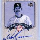 Dave Kingman 2003 Upper Deck Yankees Signature Series Pride of New York Autographs #PN-DK