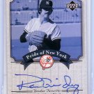 Ron Guidry 2003 Upper Deck Yankees Signature Series Pride of New York Autographs #PN-RG
