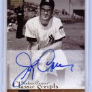 Jerry Coleman 2004 Upper Deck Yankees Classics Classic Scripts #AU-63 Autographed