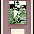 Charles Gehringer 11 x 14 Autographed Matted Display HOF Pre-certified by PSA/DNA Detroit Tigers