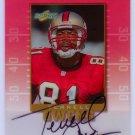 Terrell Owens  Auto 1999 Score Inscriptions Autograph #TO-81  49ers, Eagles, Cowboys
