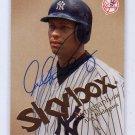 Alex Rodriguez 2004 Skybox Autographics #36 Autographed Pre-certified PSA/DNA Yankees