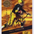 Paul Hornung HOF Auto 1994 Gold Standard Hall of Fame Signatures #HOF13 Packers Auto