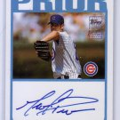 Mark Prior 2004 Topps Certified Autograph #TA-MP Cubs