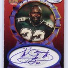 Emmitt Smith HOF Auto #/120 1997 Score Board Blue Ribbon Player Certified Autograph Cowboys HOF