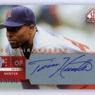 Torii Hunter Auto 2003 SP Authentic SP Chirography #TO Twins, Angels #/245