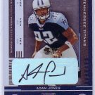 "Adam ""Pac Man"" Jones RC Auto 2005 Playoff Contenders Rookie Ticket Autograph #102 Bengals, Titans"