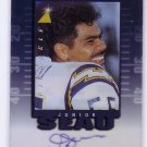 Junior Seau HOF Auto 1997 Pinnacle Inscriptions Autograph #NNO Chargers Patriots HOF Hand #'d